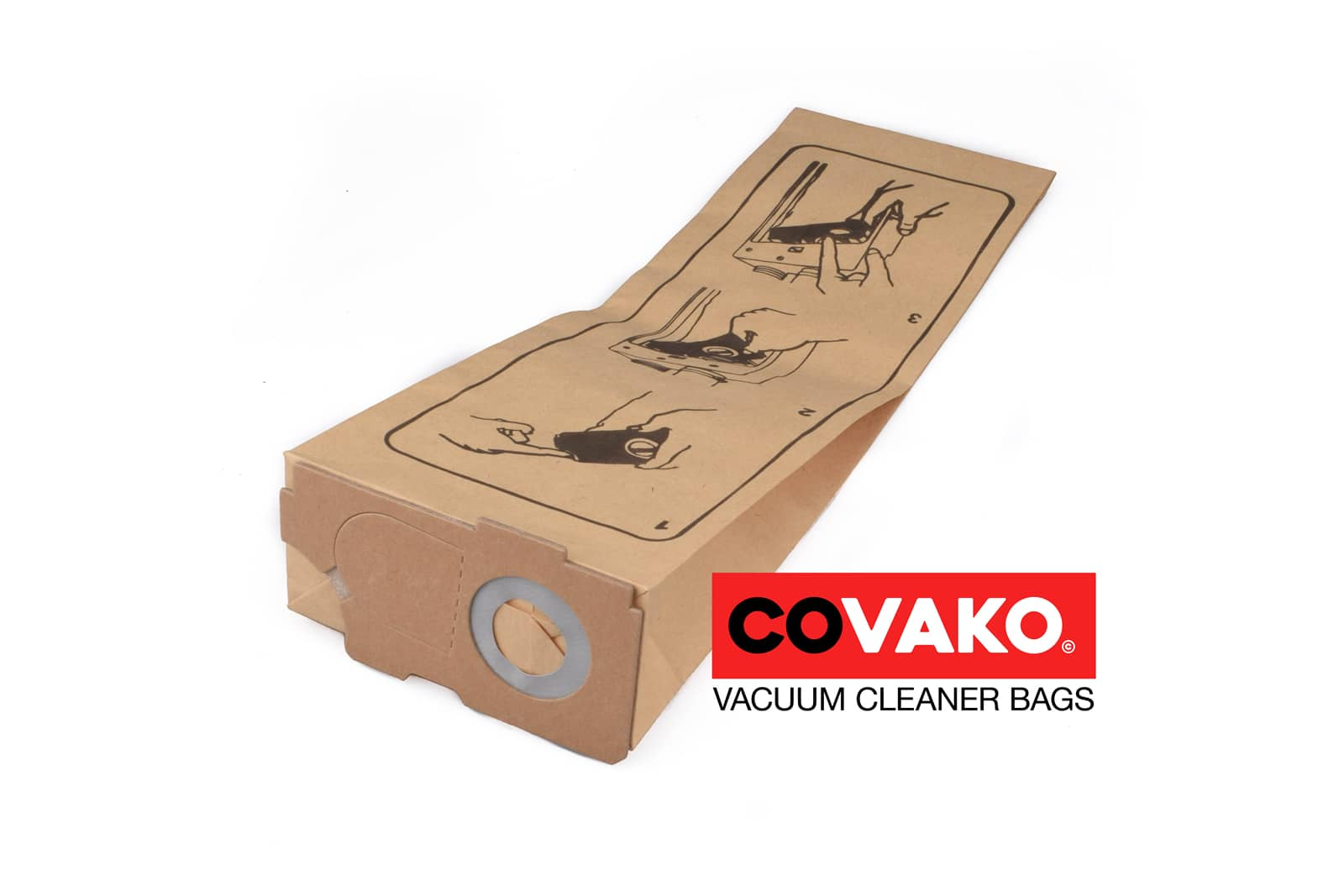 Cleanfix BS 350 / Paper - Cleanfix vacuum cleaner bags