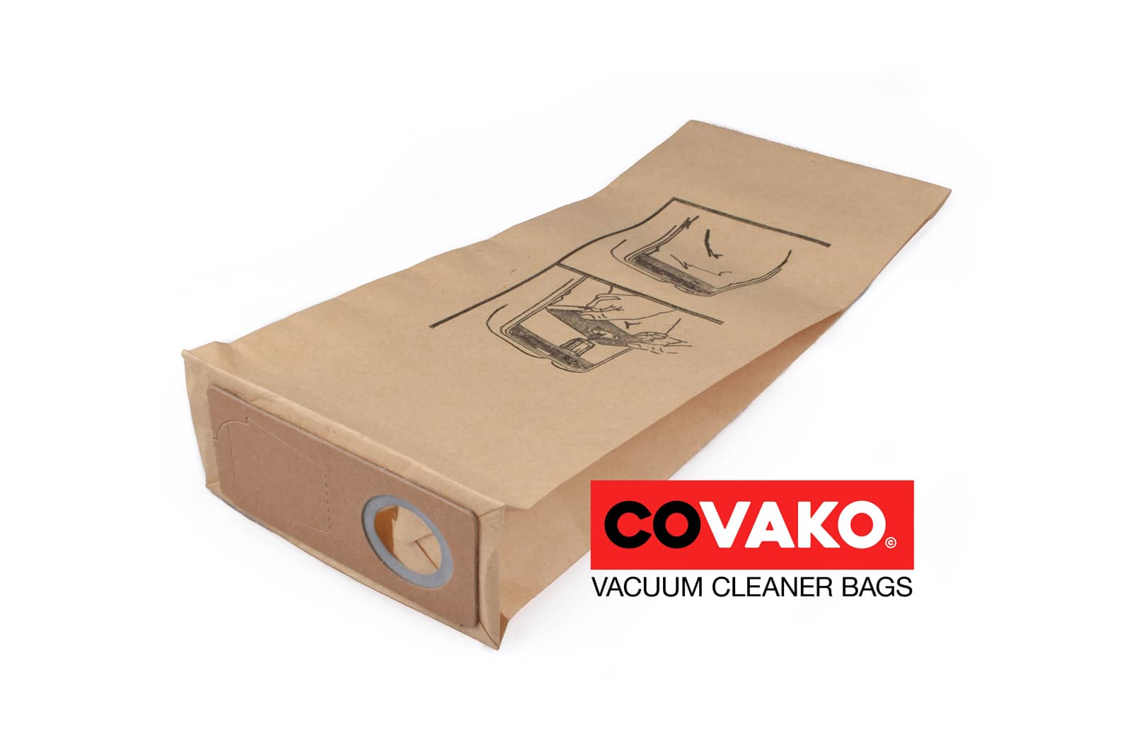 Alto GU 350 A / Papier - Alto sacs d'aspirateur