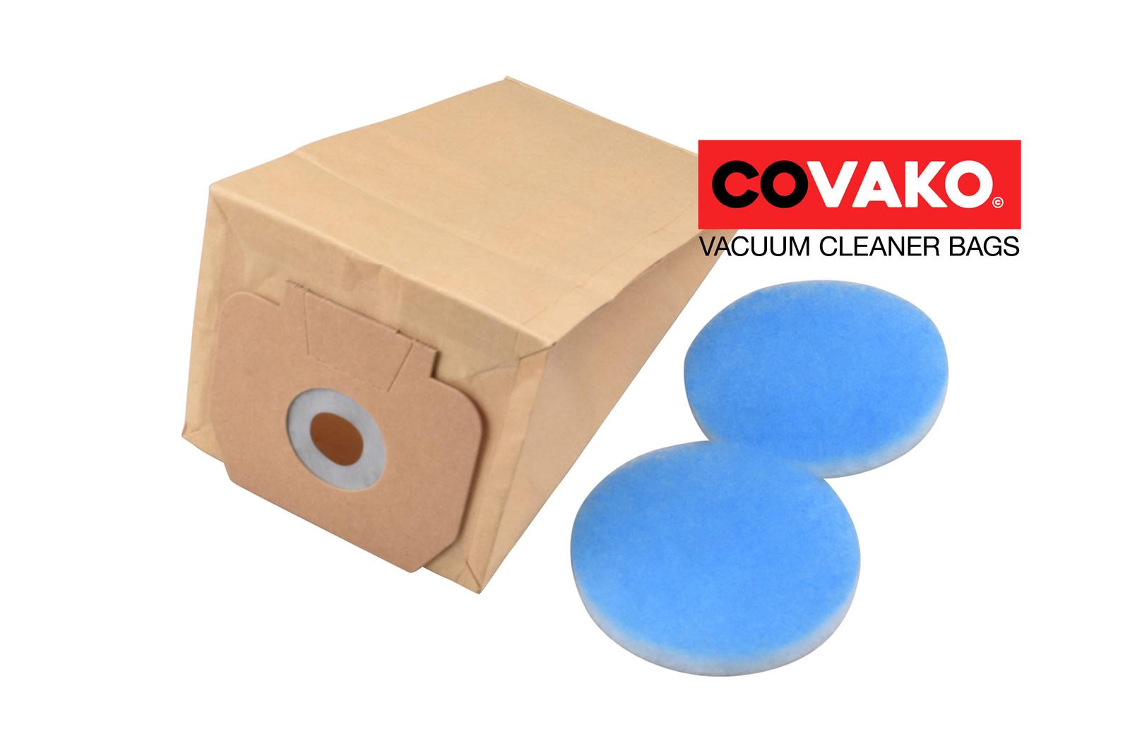 Cleanfix RS 05 / Papier - Cleanfix sacs d'aspirateur