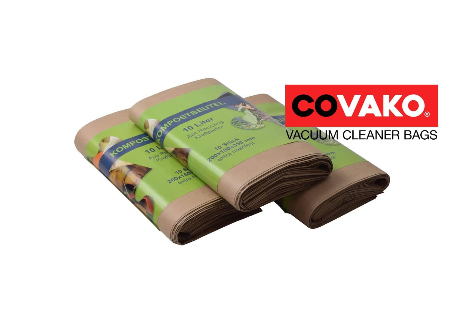 Sacs d' déchets organiques / Partie - Biomüllbeutel kompostierbarsacs d'aspirateur