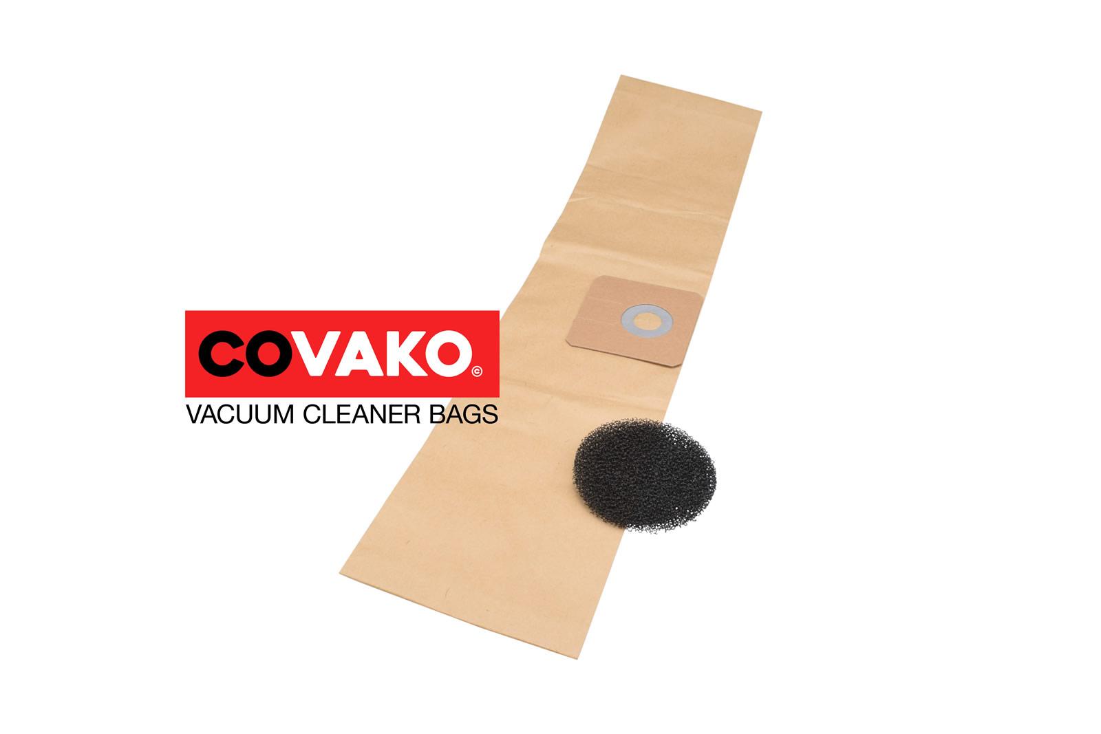 Cleanfix S 10 Plus Hepa / Papier - Cleanfix stofzuigerzakken