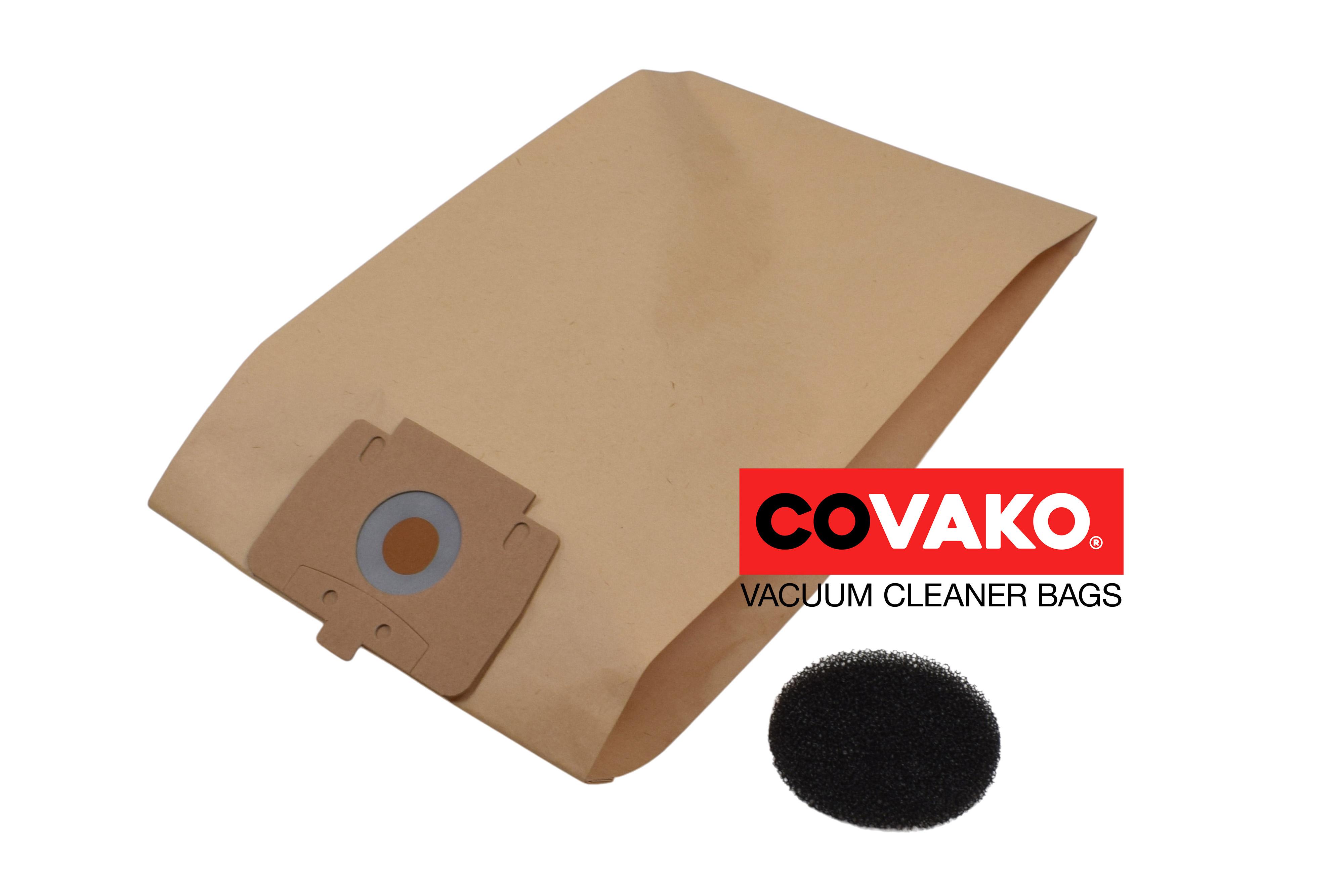 Cleanfix S 10 / Papier - Cleanfix stofzuigerzakken